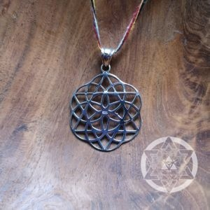Seed of Life with Star of David Pendant