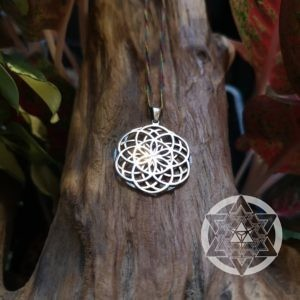 Seed of Life Reversible Pendant