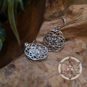 Seed of Life Reversible Earrings