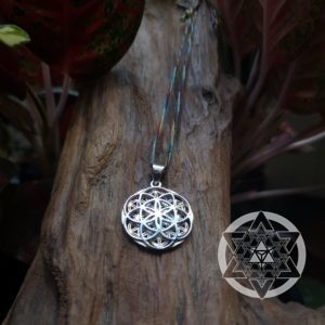 Seed of Life / Flower of Life Reversible Pendant