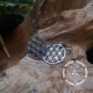 Seed of Life Earrings (L)
