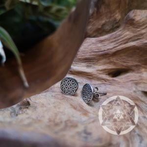Seed of Life Ear Studs
