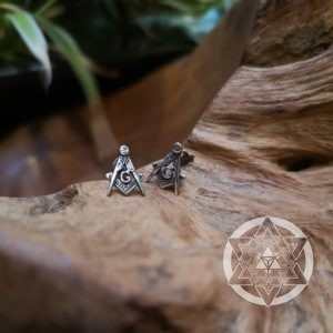 Masonic Geometry Ear Studs