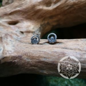 Claddagh Ear Stud