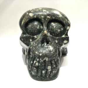 Preseli Bluestone Master Skull for Universal Remembering & Mastery in Sacred Service