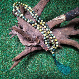 Green Serpentine 108 Mala